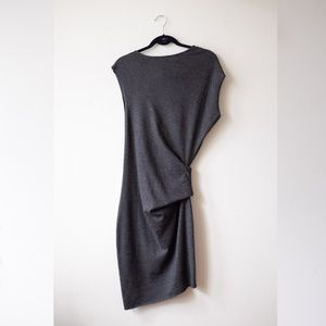 Helmut Lang Dresses - Helmut Lang Asymmetrical grey dress